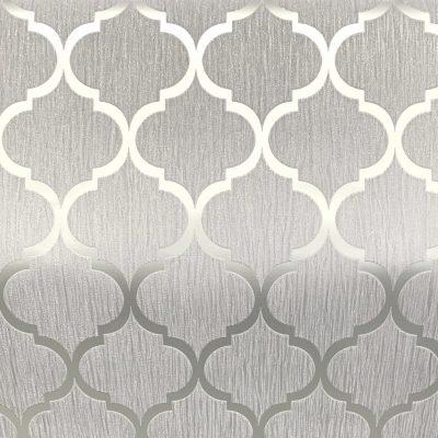 Crystal Trellis Grey/Silver 8897