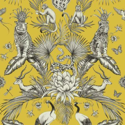 Belgravia Menagerie Animals 2001 Yellow