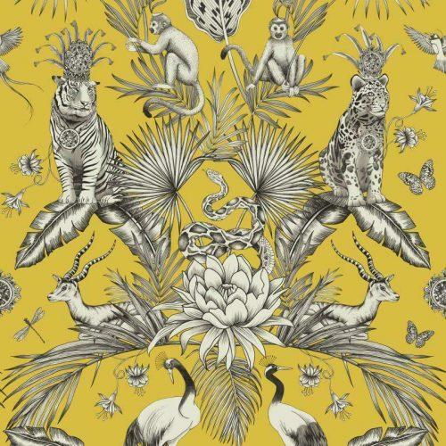 Belgravia Menagerie Animals 2001 Yellow