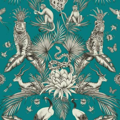 Belgravia Menagerie Animals 2004 Teal Blue