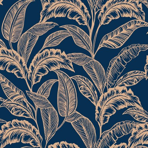 Mozambique Wallpaper Blue Accessorize 275116
