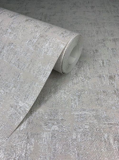 Montego Brushed Metallic Texture Grey HI828