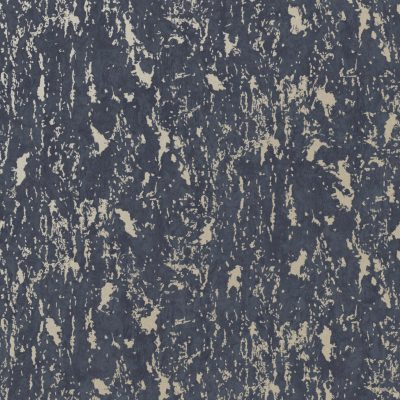 Distressed Milan Navy Texture Wallpaper