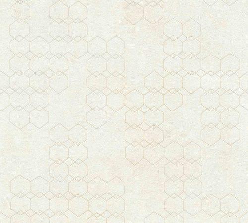 Shop White Wallpaper