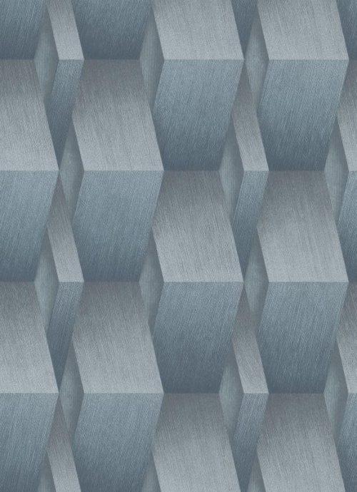 Blue 3D Wood Effect 10046-08