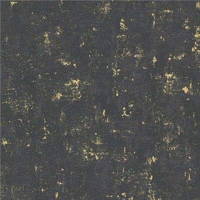 AS Creation Industrial Loft Wall Black Gold Wallpaper 2307-82