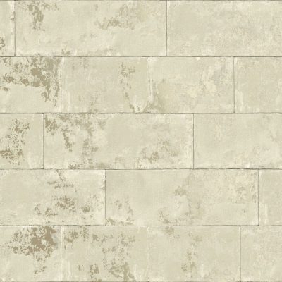 Metallic Brick Wallpaper Natural Rasch 248692