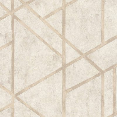 Cream Francesca Concrete Geometric 36928-4 Metropolitan Stories