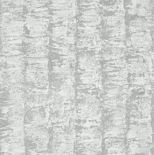 Boutique Silver Ribbed Texture H50 Wallpaper