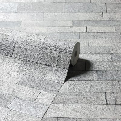 295200 Graphite Slate Vintage Wallpaper By Arthouse