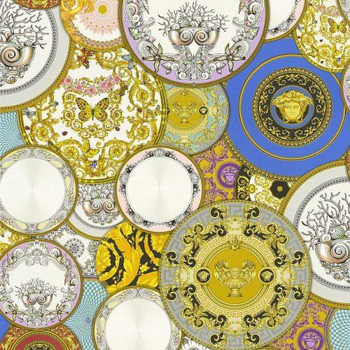 Versace Etoiles Plates Multi metallic 34901-1 Wallpaper