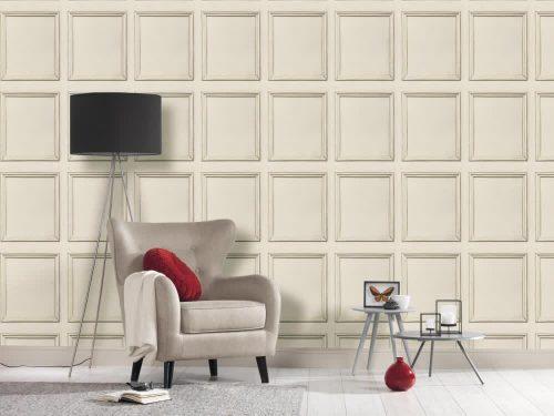 Large Wood Panel Stone AS Creation Living Walls 36392-1 Wallpaper
