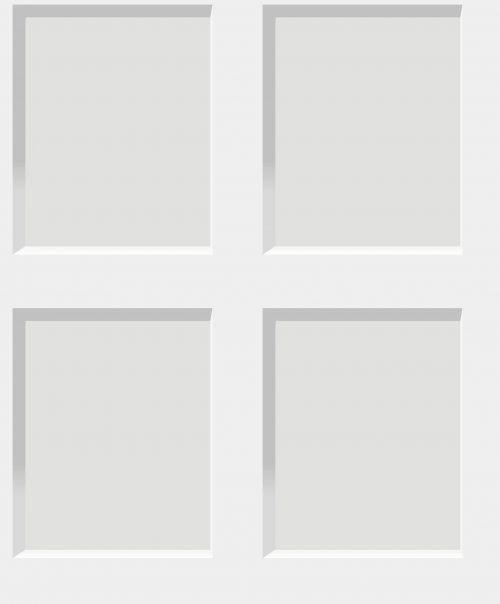 Heritage Wood Panel Effect White 6740 Debona Wallpaper