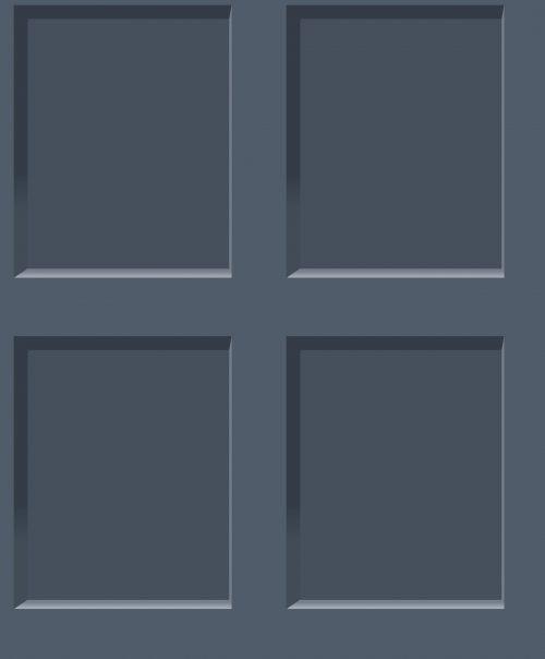 Heritage Wood Panel Effect Navy Blue 6742 Debona Wallpaper