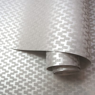 99350 Aravalli Individual Silver Grey Bead Wallpaper Holden