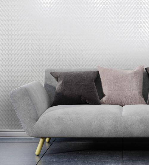 99350 Aravalli Individual Silver Grey Bead Wallpaper Holden