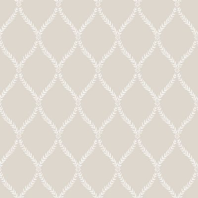 Exclusive Serene Trellis Beige Hi052 Wallpaper