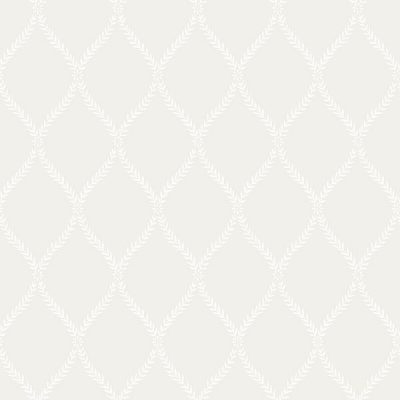 Exclusive Serene Trellis Cream Hi053 Wallpaper