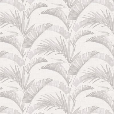 Arthouse Banana Palm Chalk Grey 610600 Wallpaper