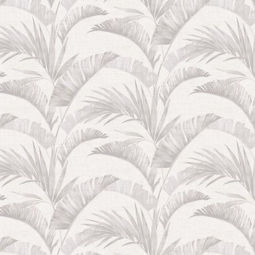 Arthouse Banana Palm Chalk Grey 610600 Wallpaper
