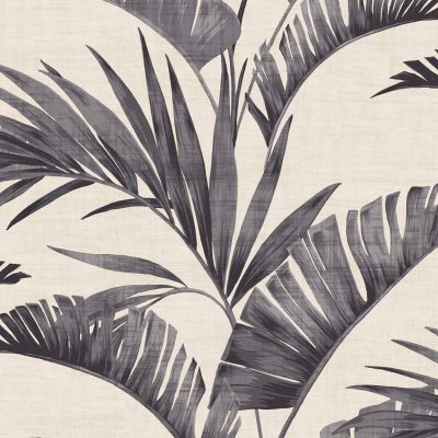 Arthouse Banana Palm Charcoal 610601 Wallpaper