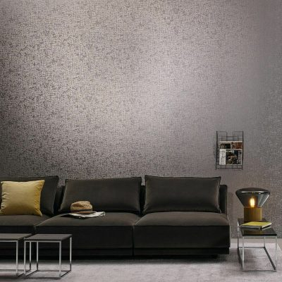 Cassiopeia Taupe Glass Bead 1763-37 Wallpaper Erismann