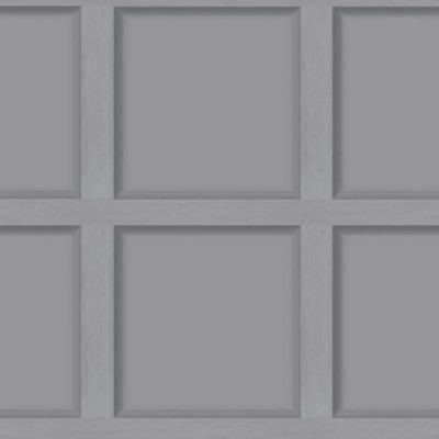 Modern Wood Panel Effect Grey 12981 Holden Wallpaper
