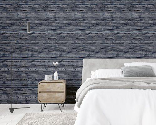 Sahara Denim Blue Arthouse Wallpaper 297700