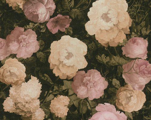 Pink/Cream Floral 37650-1 (376501) History of Art Wallpaper