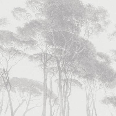 Grey Tree 37651-3 (376513) History of Art Wallpaper