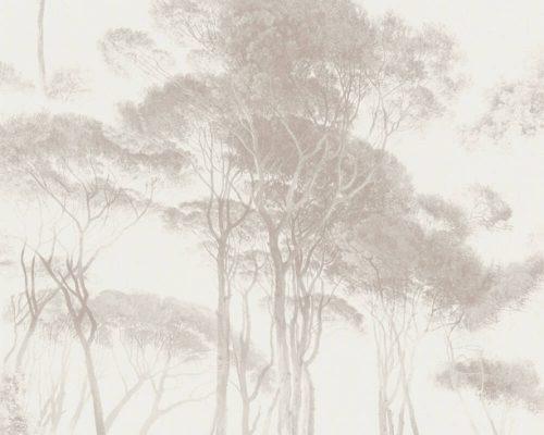 Beige Tree 37651-4 (376514) History of Art Wallpaper