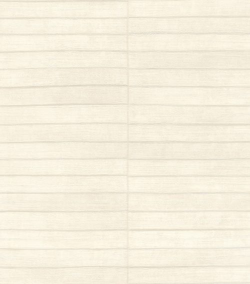 Cream Shimmer Faux Leather Tile 418415 Rasch Club Wallpaper
