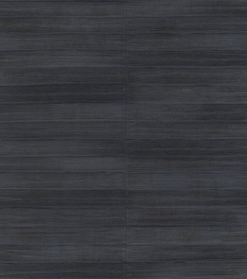 Navy Shimmer Faux Leather Tile 418514 Rasch Club Wallpaper