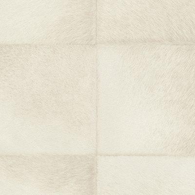 Cream Faux Fur Tile Panel 419108 Rasch Club Wallpaper