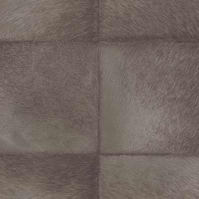 Brown Faux Fur Tile Panel 419139 Rasch Club Wallpaper