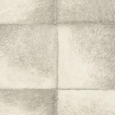 Beige Faux Fur Tile Panel 425901 Rasch Club Wallpaper