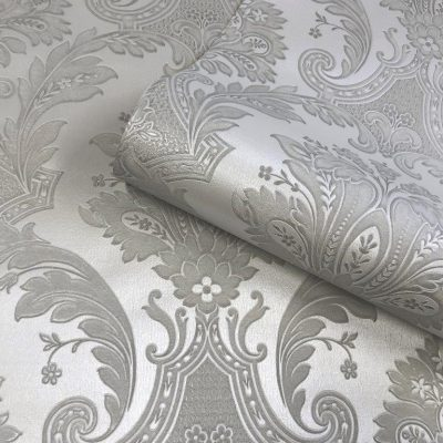 Amara Silver Damask 7370 Belgravia Decor