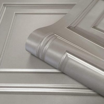 Amara Silver Grey Panel 7374 Belgravia Decor