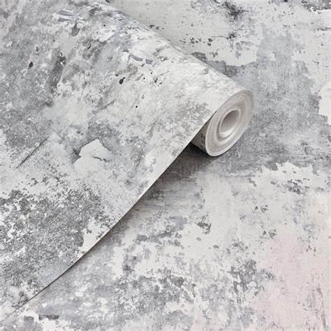Grandeco Exposure Rough Concrete Wallpaper EP3003
