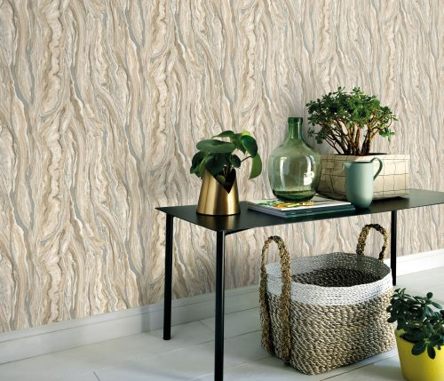Elle Decoration Beige Marble 10149-02 Wallpaper