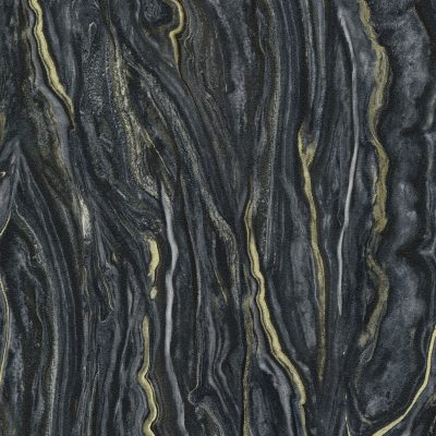 Elle Decoration Black Marble 10149-15 Wallpaper