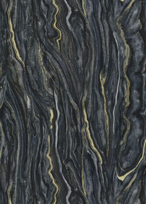 Elle Decoration Black Marble 10149-15 Wallpaper