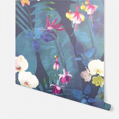 Artistick Pindorama Navy Self Adhesive Wallpaper Arthouse 300201 6m x 0.53m