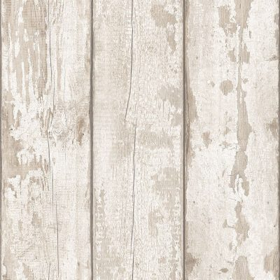 Artistick White Washed Wood Self Adhesive Wallpaper Arthouse 300205