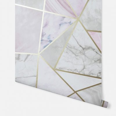 Artistick Fragments Geo Self Adhesive Wallpaper Multi Arthouse 300208 6m x 0.53m