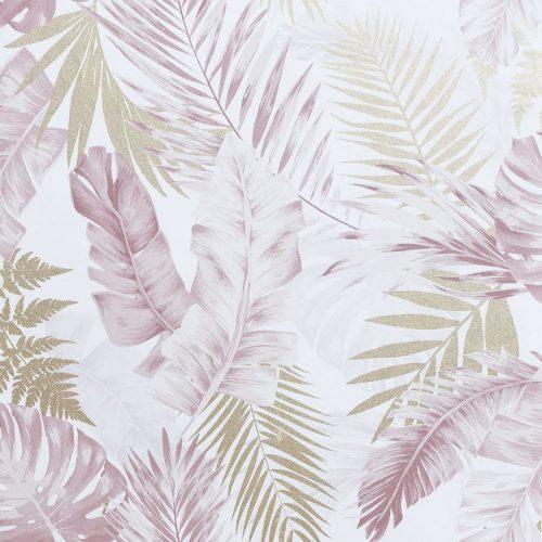 Artistick Soft Tropical Self Adhesive Wallpaper Blush/Gold Arthouse 300212 6m x 0.53m