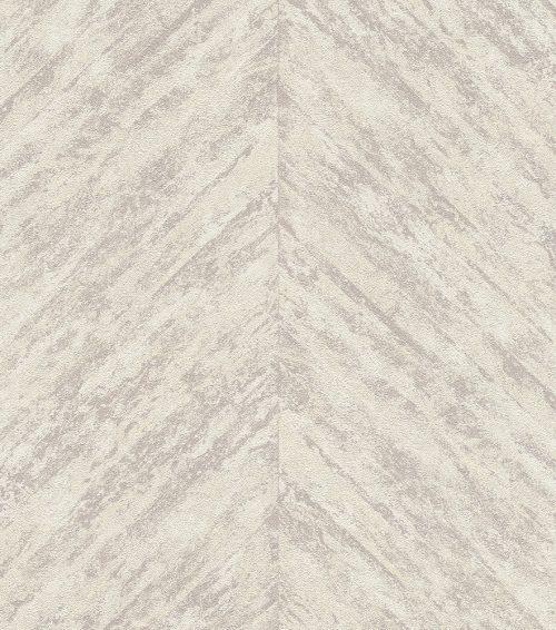 Linares Cream Taupe Chevron 617511 Wallpaper Rasch