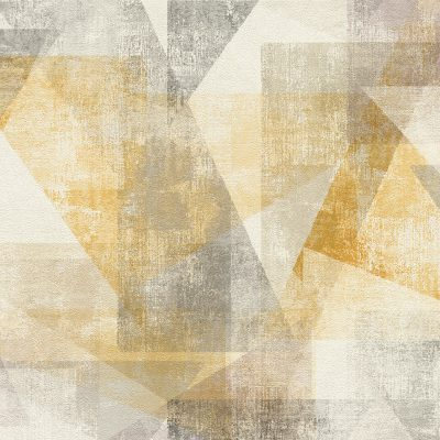 Linares Yellow Geometric 617948 Wallpaper Rasch