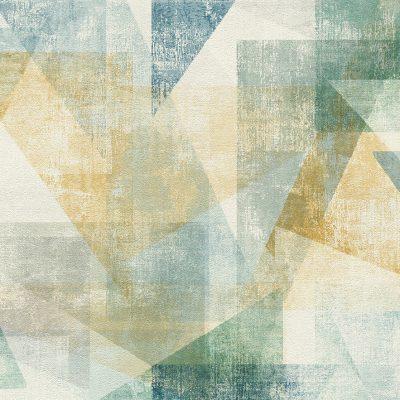 Linares Multi Geometric 617962 Wallpaper Rasch