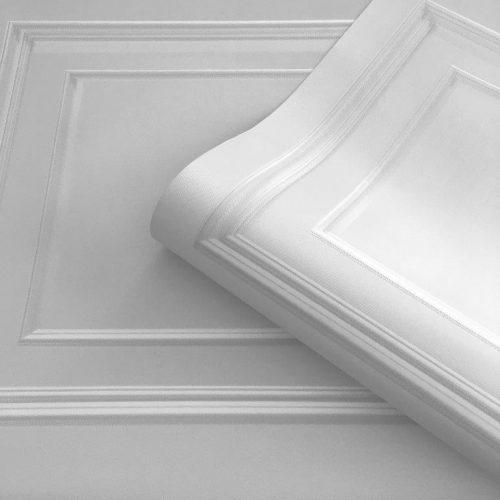 Amara Soft Silver Panel 7376 Belgravia Decor Wallpaper